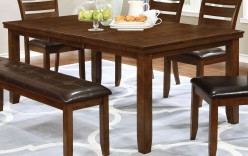 Coaster Maxwell Golden Brown Dining Table Available Online in Dallas Fort Worth Texas