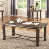 Coaster Salooned Dark Brown Coffee Table Available Online in Dallas Fort Worth Texas