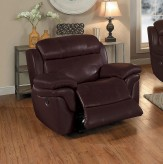 Homelegance Spruce Brown Glider Recliner Available Online in Dallas Fort Worth Texas