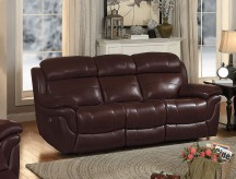 Homelegance Spruce Brown Double Reclining Sofa Available Online in Dallas Fort Worth Texas