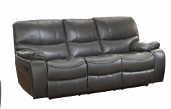 Homelegance Pecos Grey Double Reclining Sofa Available Online in Dallas Fort Worth Texas