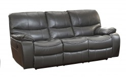 Homelegance Pecos Grey Power Double Reclining Sofa Available Online in Dallas Fort Worth Texas