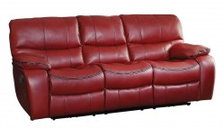 Homelegance Pecos Red Double Reclining Sofa Available Online in Dallas Fort Worth Texas