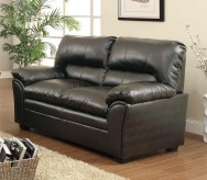 Homelegance Talon Black Loveseat Available Online in Dallas Fort Worth Texas