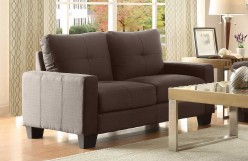 Homelegance Ramsey Grey Loveseat Available Online in Dallas Fort Worth Texas