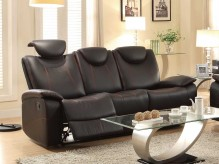 Homelegance Talbot Black Double Reclining Sofa Available Online in Dallas Fort Worth Texas