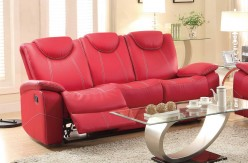 Homelegance Talbot Red Double Reclining Sofa Available Online in Dallas Fort Worth Texas