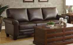Homelegance Hume Dark Brown Sofa Available Online in Dallas Fort Worth Texas