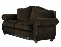 Homelegance Midwood Chocolate Loveseat Available Online in Dallas Fort Worth Texas