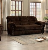 Homelegance Valentina Dark Brown Sofa Available Online in Dallas Fort Worth Texas