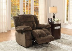 Laurelton Chocolate Glider Reclining Chair Available Online in Dallas Fort Worth Texas