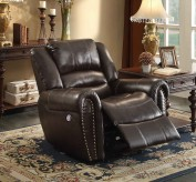 Homelegance Center Hill Dark Brown Power Reclining Chair Available Online in Dallas Fort Worth Texas