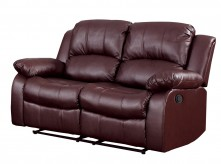 Cranley Brown Power Double Reclining Loveseat Available Online in Dallas Fort Worth Texas