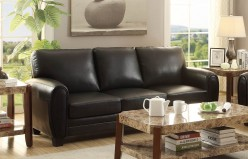 Homelegance Rubin Black Sofa Available Online in Dallas Fort Worth Texas