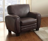 Rubin Dark Brown Chair Available Online in Dallas Fort Worth Texas
