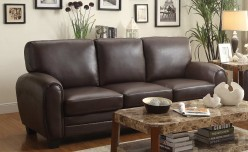 Homelegance Rubin Dark Brown Sofa Available Online in Dallas Fort Worth Texas