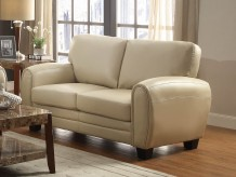 Homelegance Rubin Taupe Loveseat Available Online in Dallas Fort Worth Texas