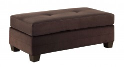 Phelps Chocolate Ottoman Available Online in Dallas Fort Worth Texas