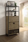 Homelegance Barolo Natural Wine Cabinet Available Online in Dallas Fort Worth Texas