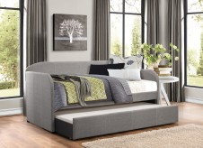 Homelegance Roland Grey Daybed with Trundle Available Online in Dallas Fort Worth Texas