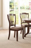 Homelegance Frankford Brown Side Chair Available Online in Dallas Fort Worth Texas