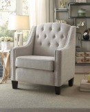 Homelegance Harmony Neutral Beige Accent Chair Available Online in Dallas Fort Worth Texas