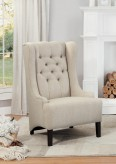 Homelegance Devon Beige Accent Chair Available Online in Dallas Fort Worth Texas