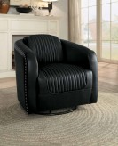 Homelegance Moderne Black Swivel Chair Available Online in Dallas Fort Worth Texas