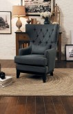 Homelegance Adriano Dark Grey Accent Chair Available Online in Dallas Fort Worth Texas