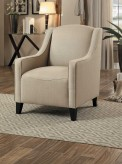 Homelegance Semplice Beige Accent Chair Available Online in Dallas Fort Worth Texas