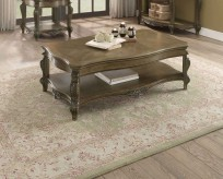 Homelegance Moorewood Park Pecan Coffee Table Available Online in Dallas Fort Worth Texas