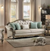Homelegance Moorewood Park Natural Tone Sofa Available Online in Dallas Fort Worth Texas