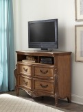 Homelegance Moorewood Park Pecan TV Chest Available Online in Dallas Fort Worth Texas