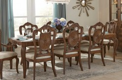 Homelegance Moorewood Park Pecan Rectangular Dining Table Available Online in Dallas Fort Worth Texas
