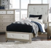Homelegance Odelia Silver Twin Bed Available Online in Dallas Fort Worth Texas