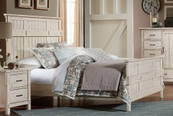 Terrace Antique White King Bed Available Online in Dallas Fort Worth Texas