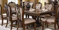 Homelegance Bonaventure Park Cherry Rectangular Dining Table Available Online in Dallas Fort Worth Texas