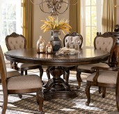 Homelegance Bonaventure Park Cherry Round Dining Table Available Online in Dallas Fort Worth Texas