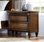 Verlyn Cherry Night Stand Available Online in Dallas Fort Worth Texas