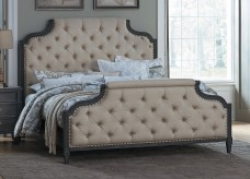 Lindley Dusty Gray King Bed Available Online in Dallas Fort Worth Texas