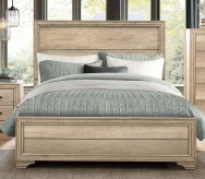 Lonan Rustic Queen Bed Available Online in Dallas Fort Worth Texas