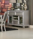 Homelegance Bevelle Silver Server Available Online in Dallas Fort Worth Texas
