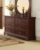 Homelegance Lucida Cherry Dresser Available Online in Dallas Fort Worth Texas