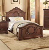 Homelegance Lucida Cherry Twin Bed Available Online in Dallas Fort Worth Texas