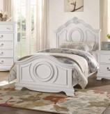 Homelegance Lucida White Twin Bed Available Online in Dallas Fort Worth Texas