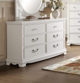 Homelegance Lucida White Dresser Available Online in Dallas Fort Worth Texas