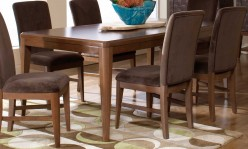 Homelegance Beaumont Brown Cherry Rectangular Dining Table Available Online in Dallas Fort Worth Texas