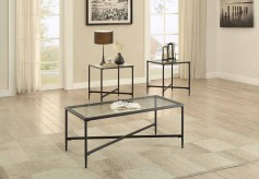 Homelegance Olas 3pc Black Occasional Table Set Available Online in Dallas Fort Worth Texas