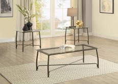 Homelegance Suisun 3pc Black Occasional Table Set Available Online in Dallas Fort Worth Texas