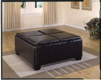 Homelegance Vega Ottoman with 4... Available Online in Dallas Fort Worth Texas